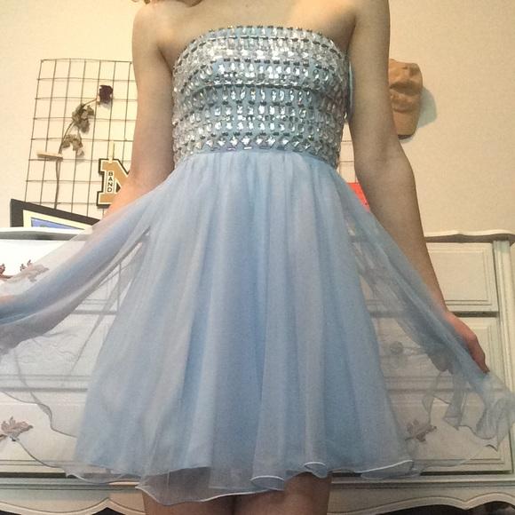 cef8c31b74b3 Windsor Dresses   Formal Dress Short Homecoming Dress Blue   Poshmark